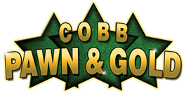 Cobb Gold and Pawn Logo
